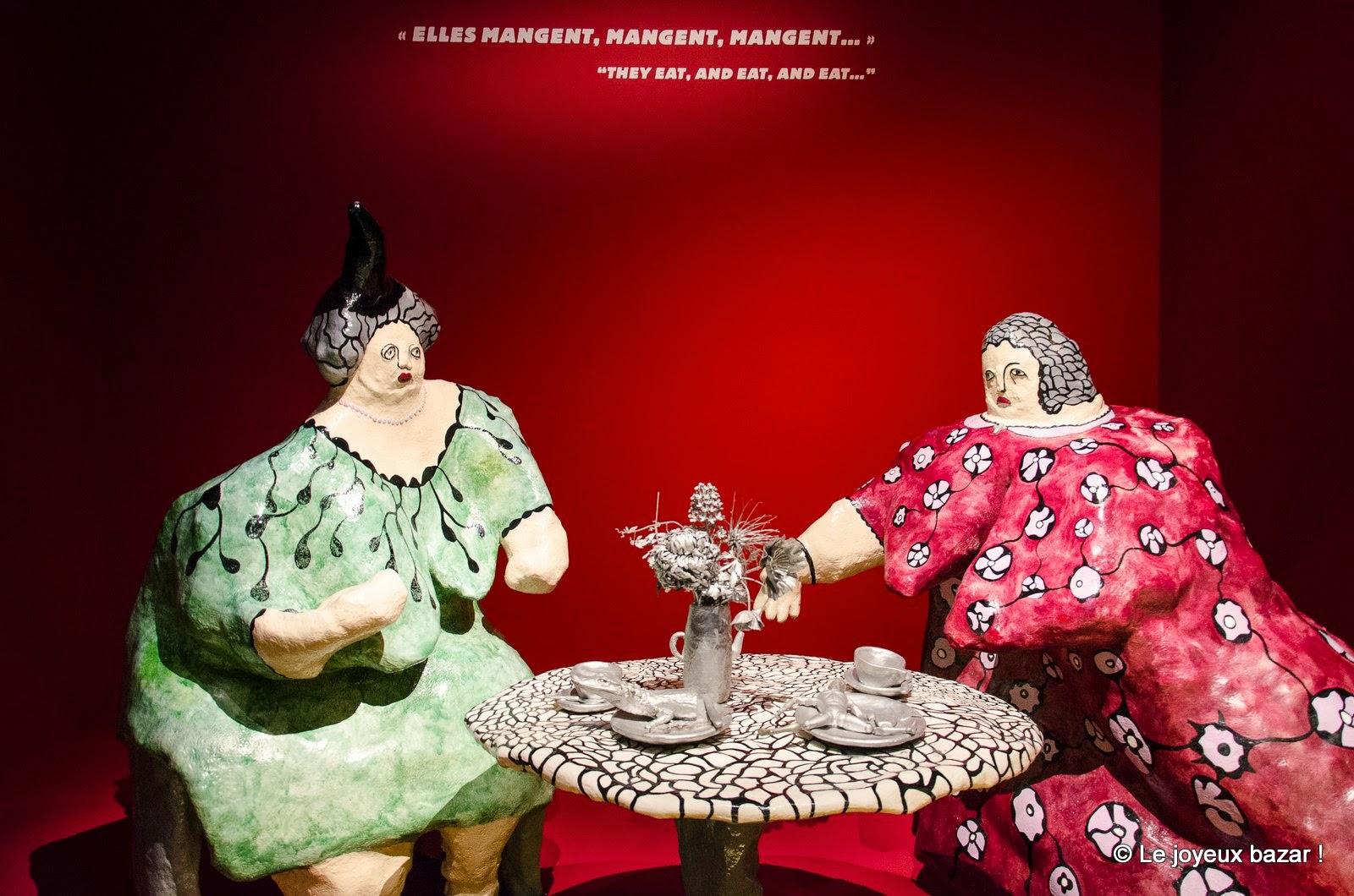 Niki de Saint Phalle  - les mères dévorantes