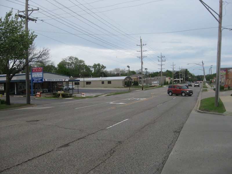 Northwest Highway, May, 2011 title=