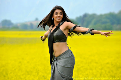 Kajal Agarwal navel show