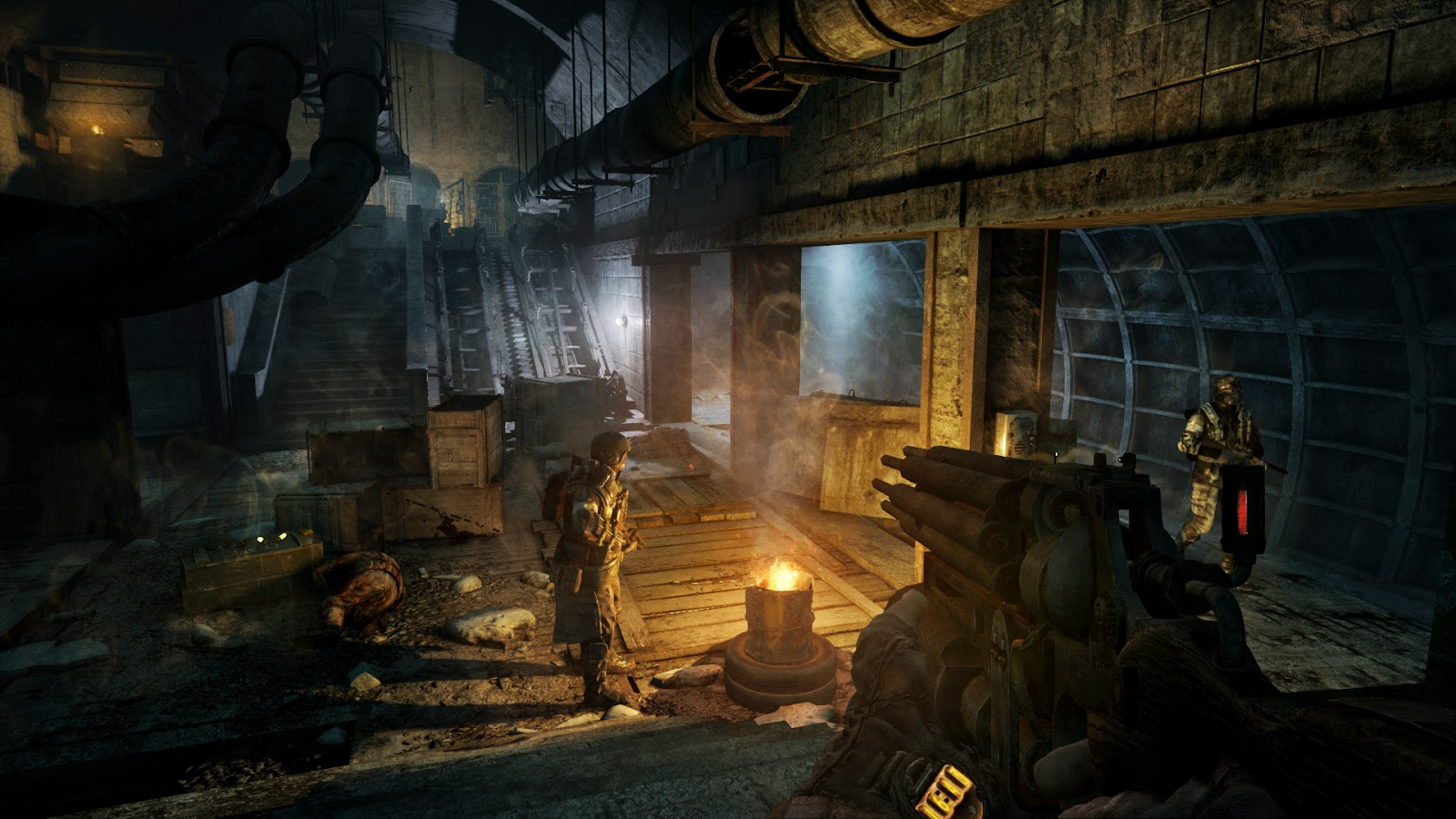 Metro 2033 Redux screenshots