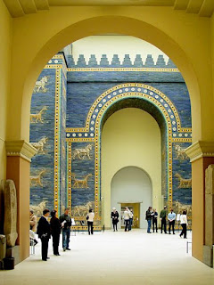 Ishtar Gate (from Babylon) at Berlin Pergamon Museum| Where to go in Berlin - Travel Europe Guide