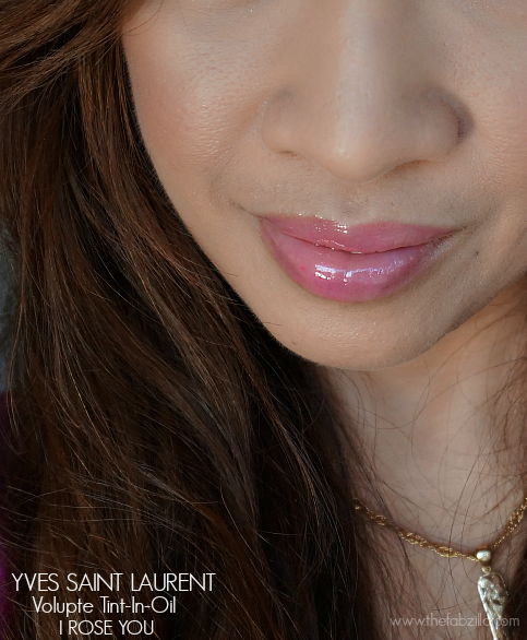 Yves Saint Laurent Volupte Tint-In-Oil, 4 I Rose You, Review, Photos, Swatch