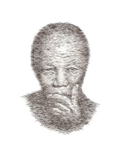 nelson mandela illustration