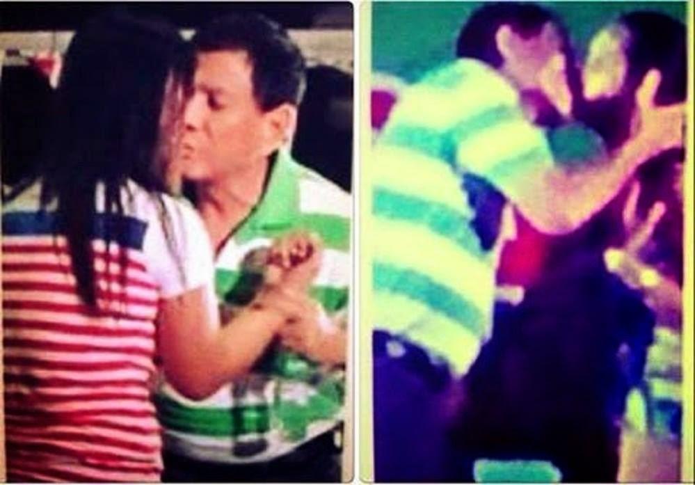 Mayor Duterte Kissing Scandal Photo Videos Davao President 2016 Latest ...