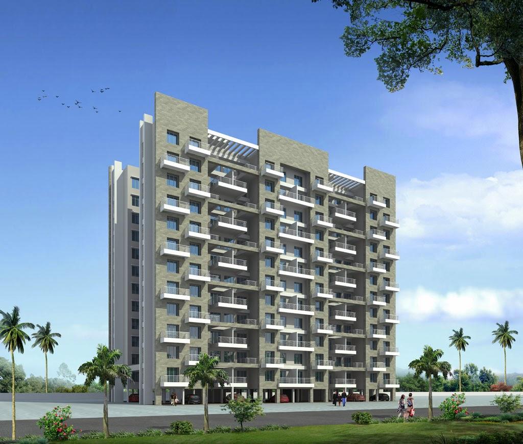 Shaikh zuber rashid modern residential buildings pune Modern residential towers