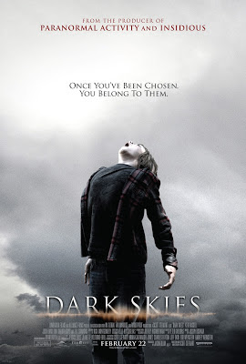 DARK SKIES poster. Copyright by respective production studio and/or distributor. Intended for editorial use only.