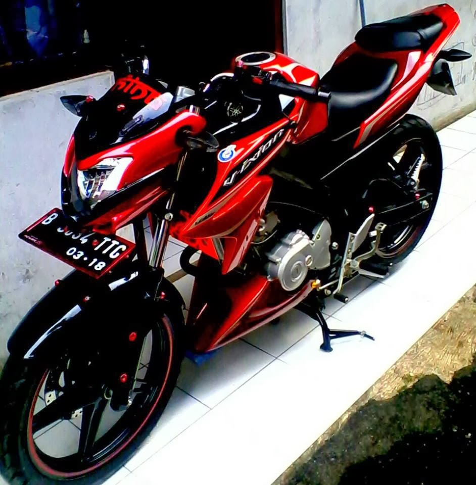 Modifikasi Keren Yamaha Vixion Lightning Terbaru MODIVIXION