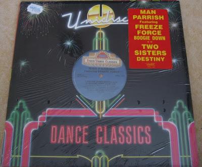 Man Parrish Featuring Freeze Force / Two Sisters – Boogie Down / Destiny (VLS) (1989) (320 kbps)