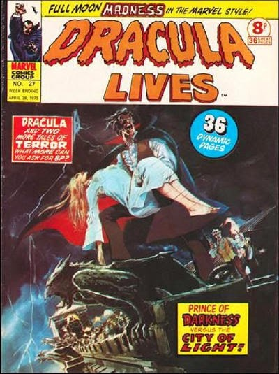 Marvel UK, Dracula Lives #27