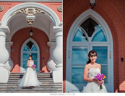 Свадьба оформление букет невесты палитра Сияющая Орхидея Radiant Orchid цвет года 2014 модные украшения дизайн