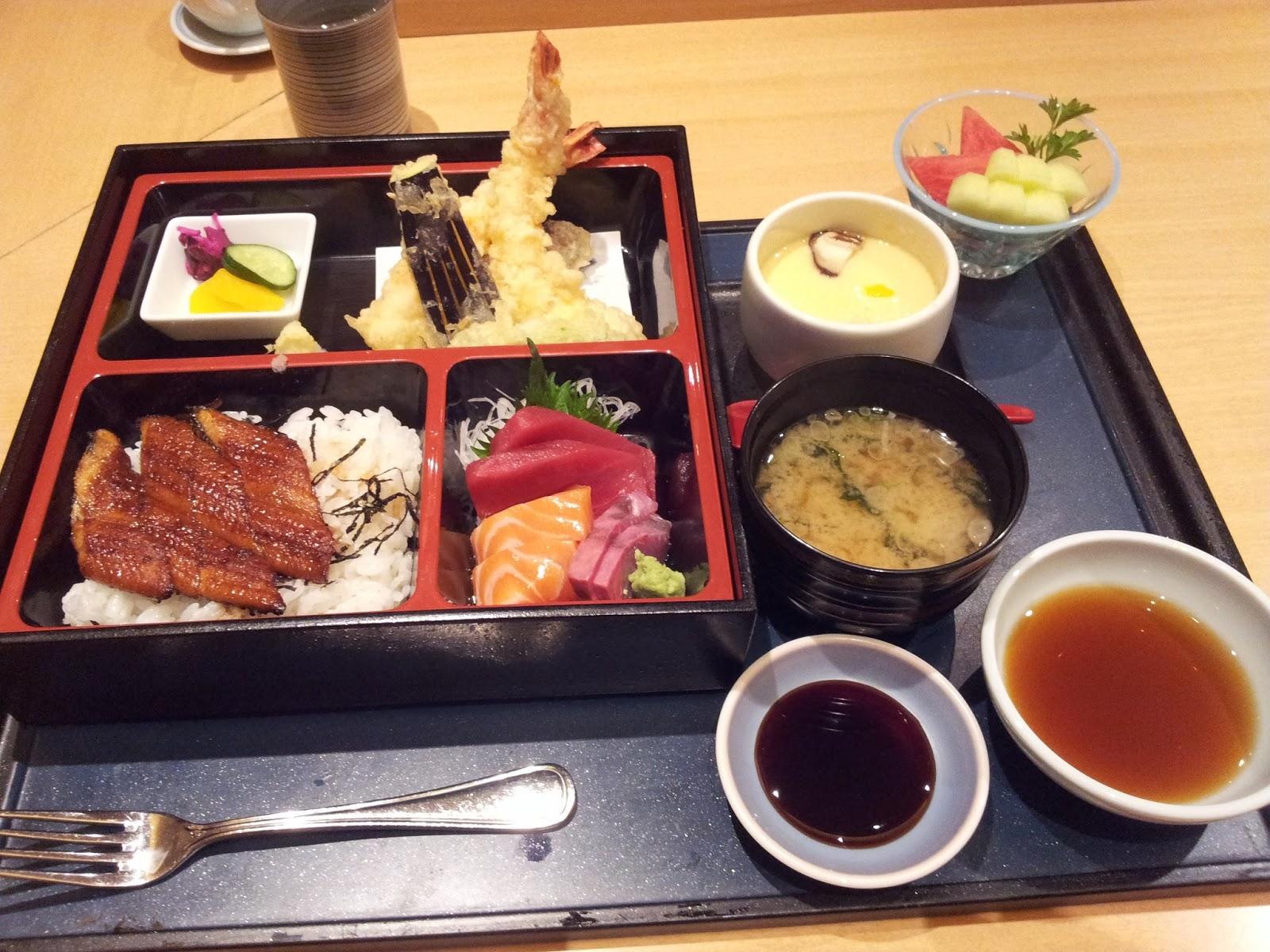 My food ramblings asuka japanese dining jw marriott jakarta for Asuka japanese cuisine