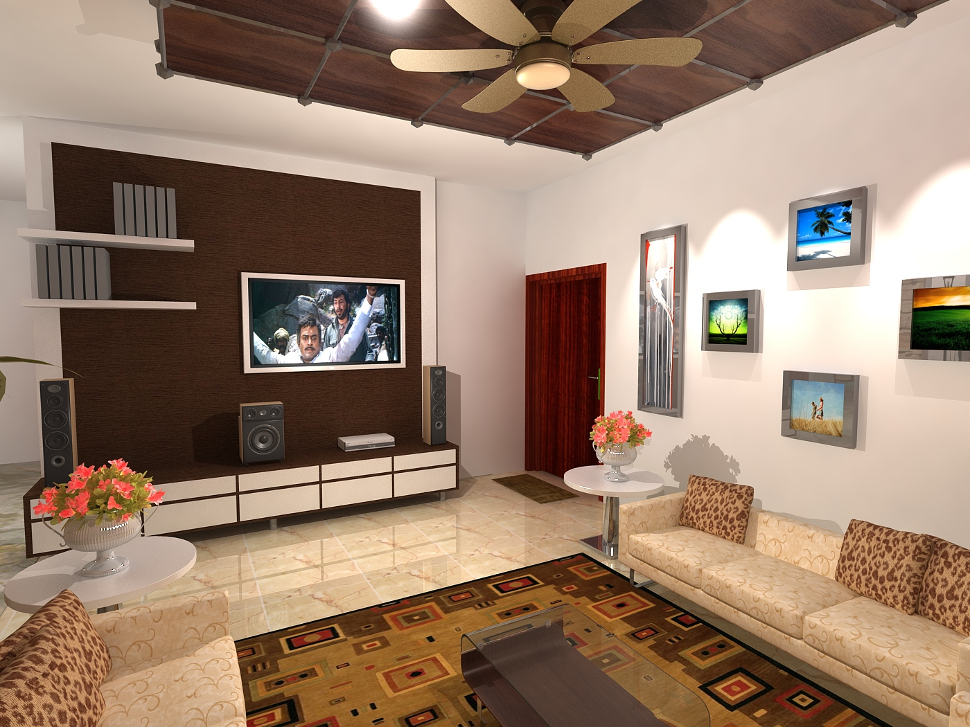 Living Room Design For Dr Balaji