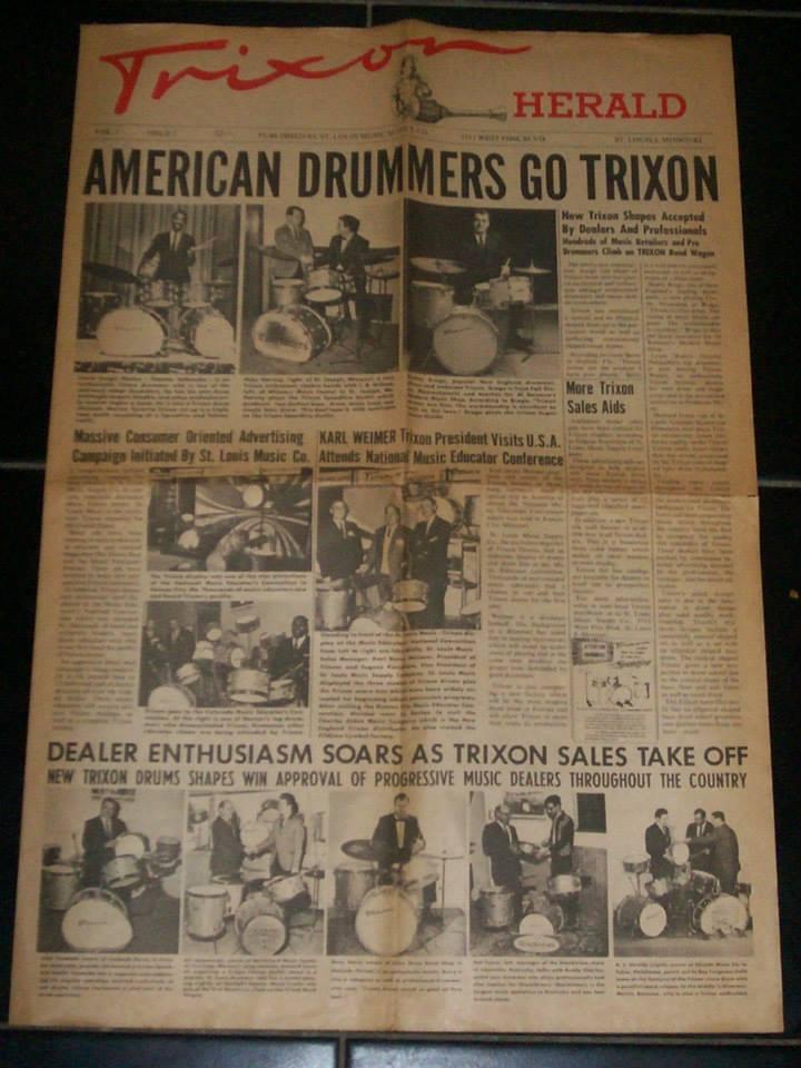 Original 1965 USA Trixon - Herald newspaper