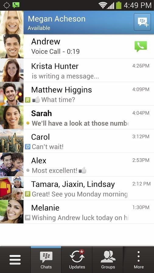 Aplikasi Android Blackberry Messenger (BBM) Versi Terbaru Asik - 8