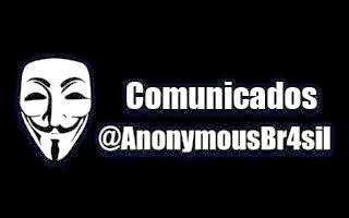 Comunicados @AnonymousBr4sil