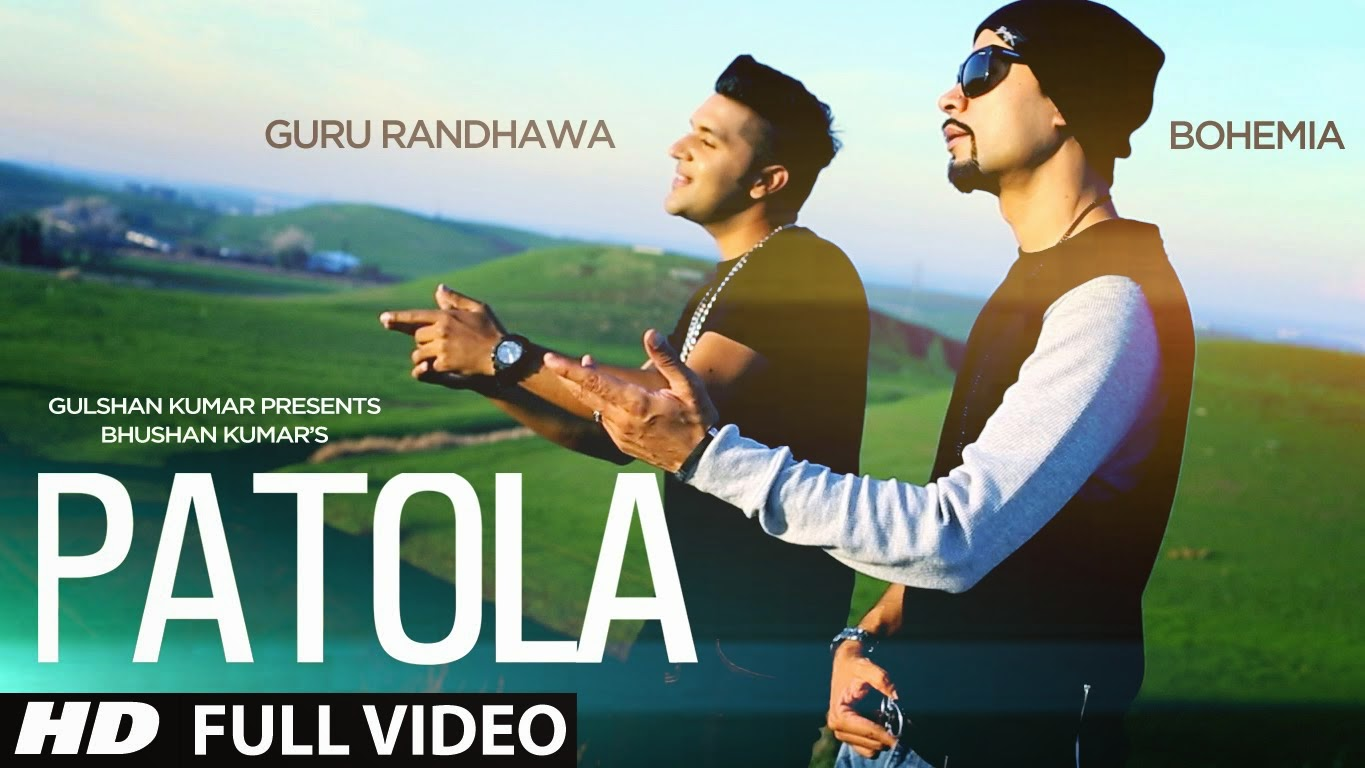 patola - bohemia the punjabi rapper x guru randhawa (music video) punjabi rap star