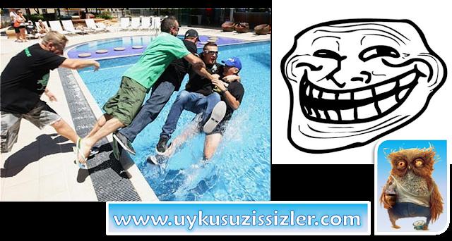 Fıkra: Beni havuza iten ibne nerede?! www.uykusuzissizler.com
