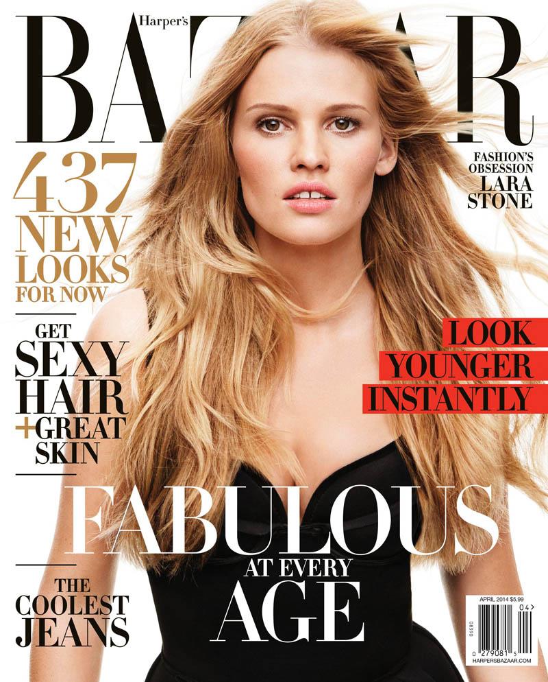 Lara Stone in Lanvin by Alber Elbaz in Harper's Bazaar US September 2009 via www.fashionedbylove.co.uk