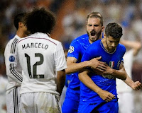 Real Madrid 1 Juventus 1 (Juventus win 3-2 on aggregate)