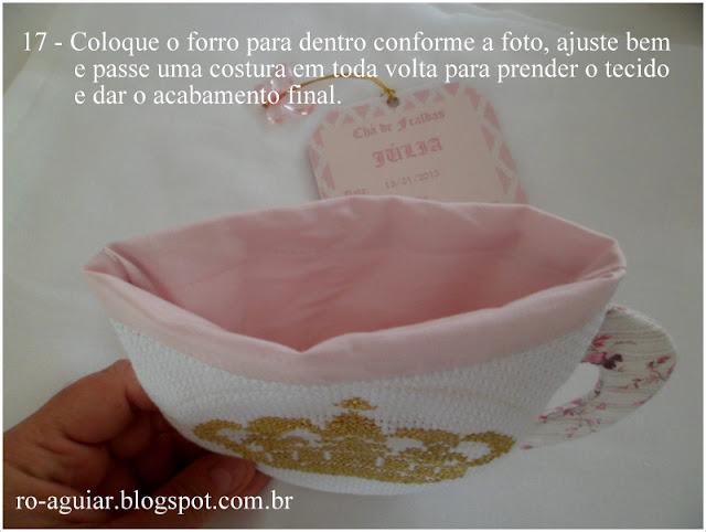 convite chá de fraldas - original, lindo, bordado com PAP