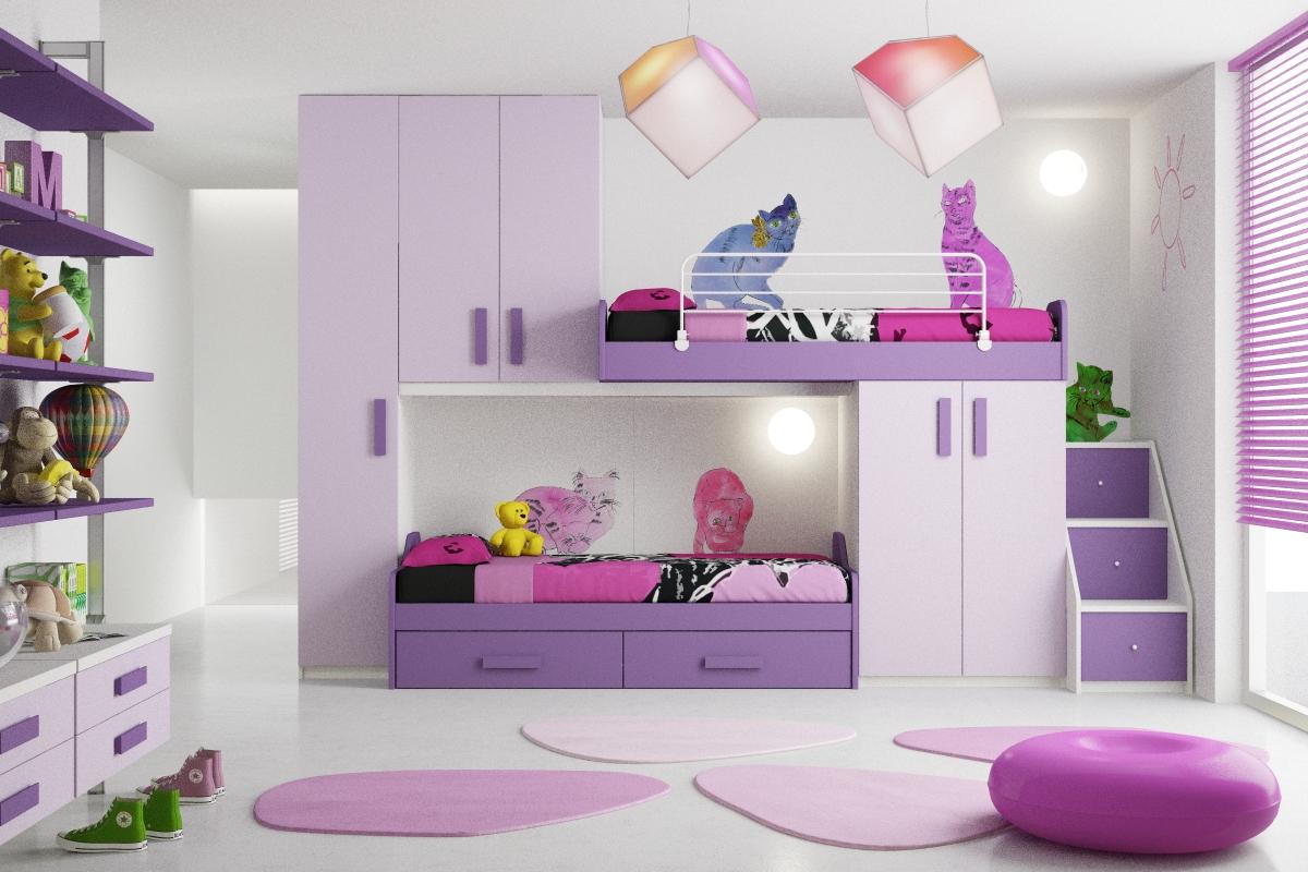 Bonetti camerette bonetti bedrooms cameretta per bambine - Camerette complete per neonati ...