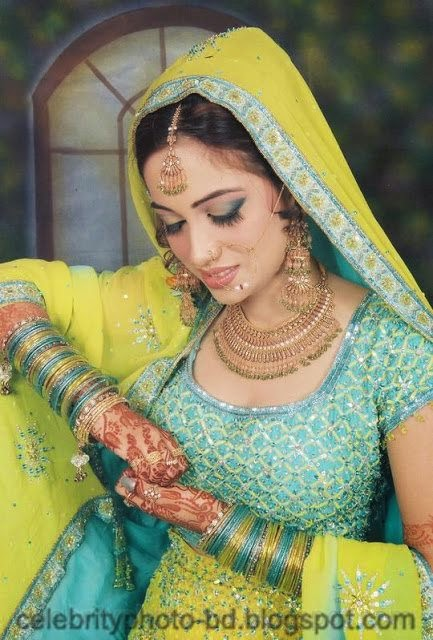 Girls+in+Weddings+and+Bridal+Dressing+Latest+New+Collection006
