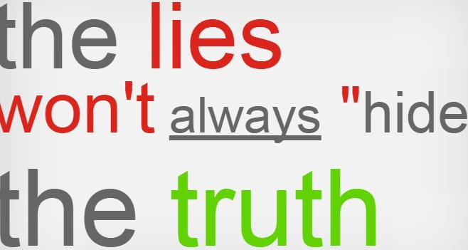 kebohongan