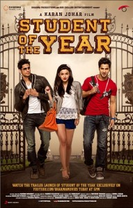 Student of the year - Cover Poster