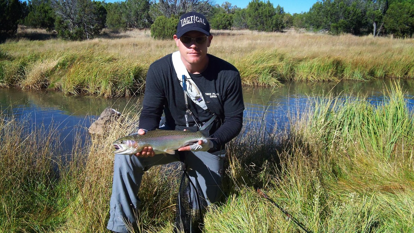 Cool people of fly fishing brian mowers of sedona fly for Sedona fly fishing