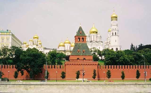 Tembok Kremlin - Moskwa
