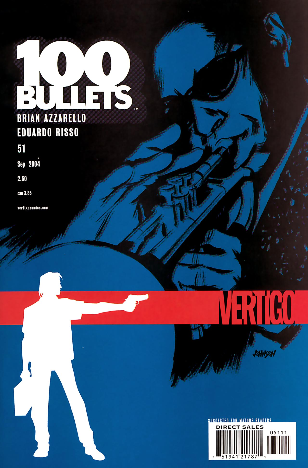 100 Bullets 51 Page 1