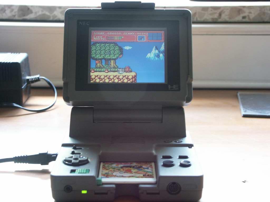 Japanspel Blog Pc Engine Handhelds And A PI AD18