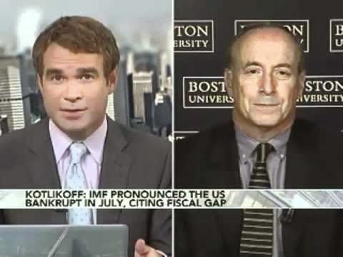 Laurence Kotlikoff on television likely being interupted again