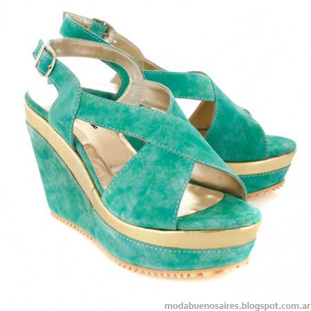 Batistella 2014 moda verano 2014 sandalias.