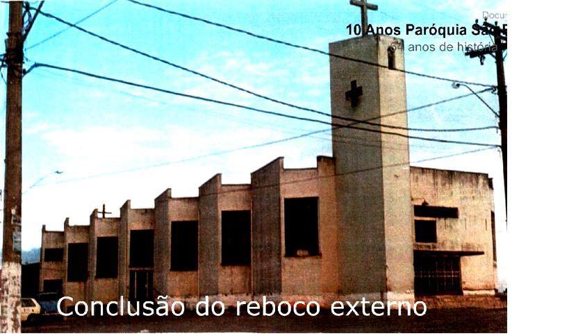 Reforma Igreja de São Pedro de Barbacena MG