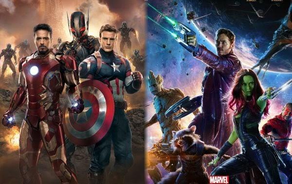 Los Vengadores, los Guardianes de la Galaxia, vengadores era de ultron, james gunn, marvel, crossover, el zorro con gafas