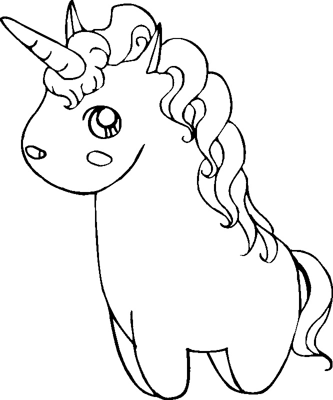 Cute Unicorn Printable Coloring Pages Printable Coloring Pages of