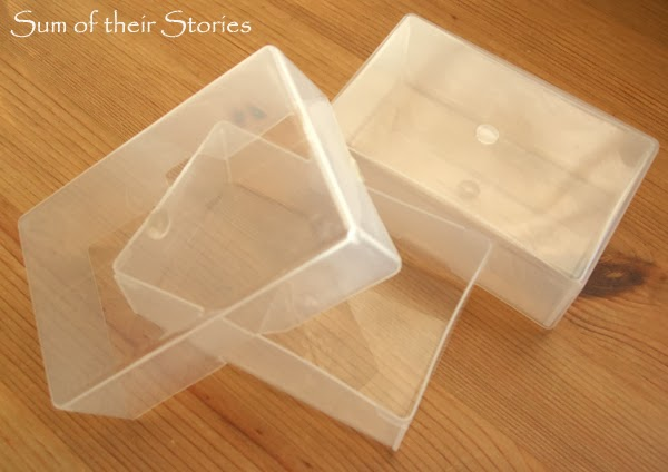 Business Card Box to Gift Box Sum of their Stories