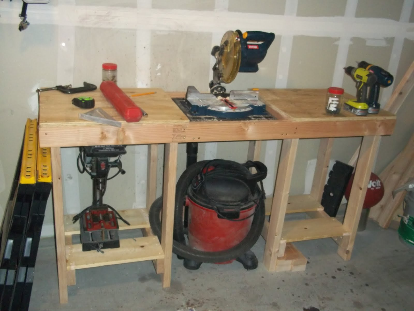 Workbench Plans No Legs Free Beginner Woodworking Projects