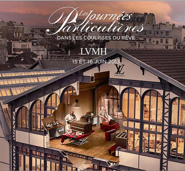 Loewe participa con el grupo LVHM en Les Journées Particulières 2013