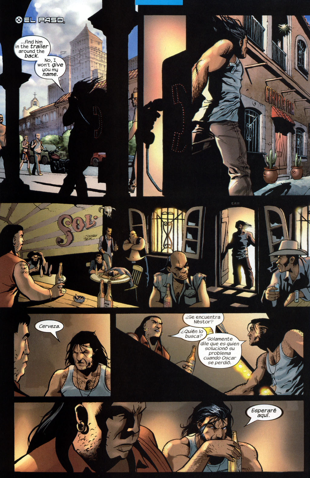 Read online Wolverine (2003) comic -  Issue #7 - 19