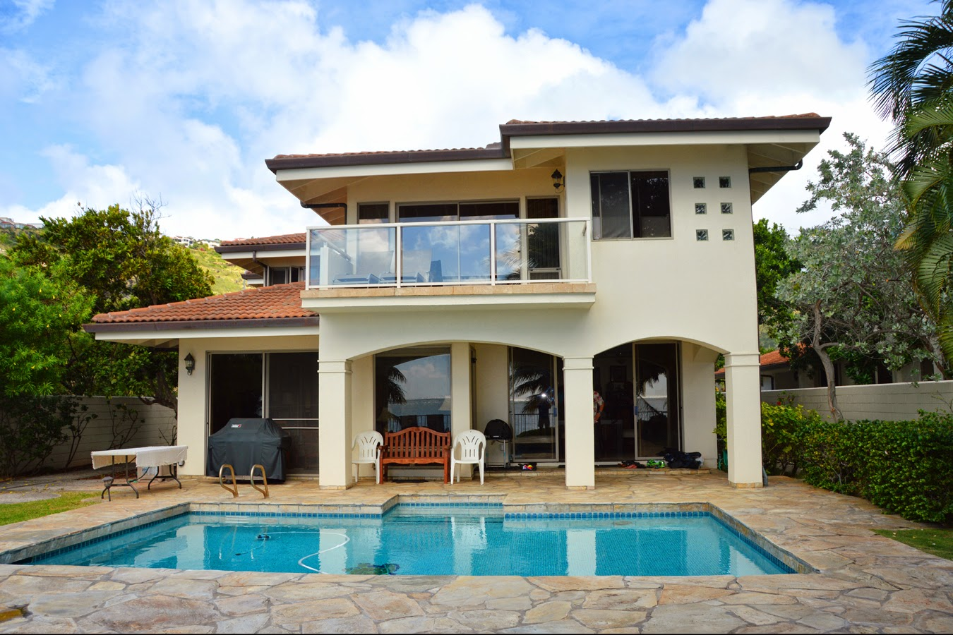 Ocean-front Mansion