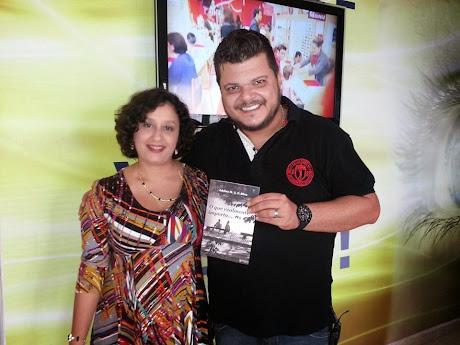 ENTREVISTA PROGRAMA RESENHA TV SOL  - Escritora Adelisa Maria Albergaria Pereira