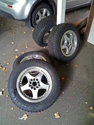 Suzuki SX4 snow tires and wheels - Subcompact Culture