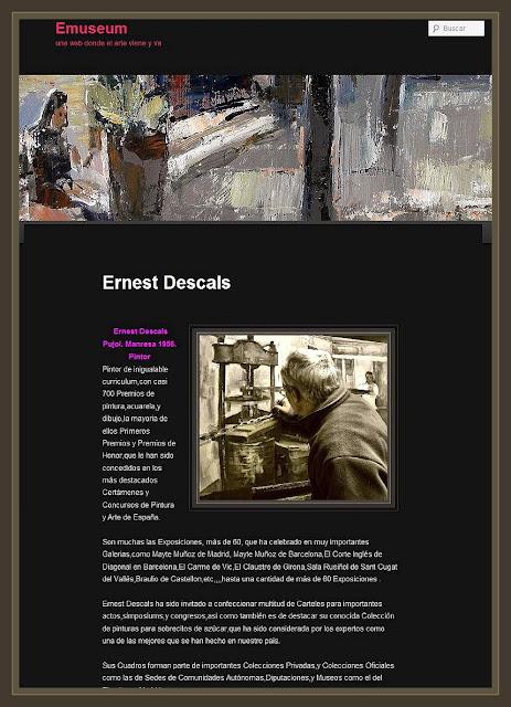 ERNEST DESCALS-PINTOR-EMUSEUM-HISTORIAL-PINTOR-PINTURA-ARTE