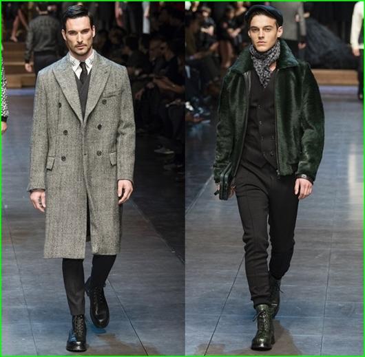 Wintermäntel für Herren von Dolce & Gabbana 2016