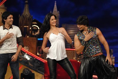 Katrina on the sets of Oye It's Friday Images