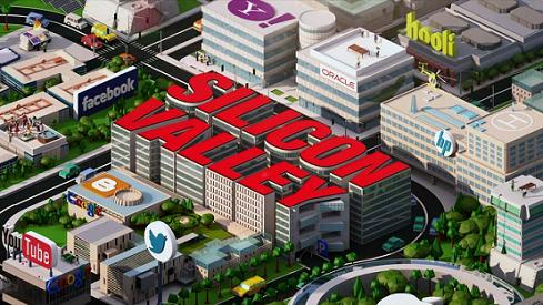 Imagen de portada de la serie de la HBO Silicon Valley.