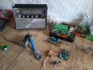 Service radio antik