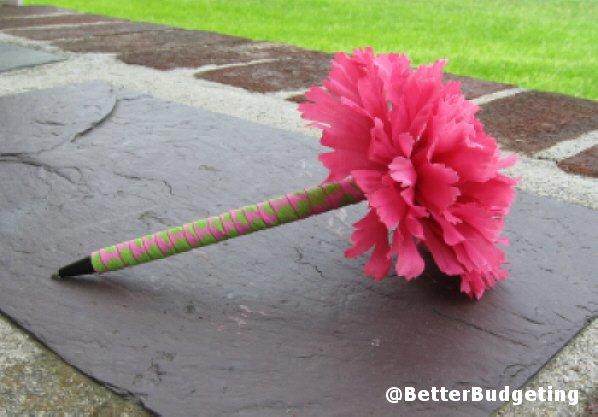 better budgeting the flower pen